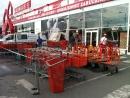 Servis nákupních vozíků pro Bauhaus